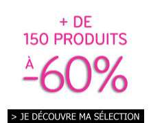 60% sur une sélection d'articles et livraison gratuite dès 20€ d'achat