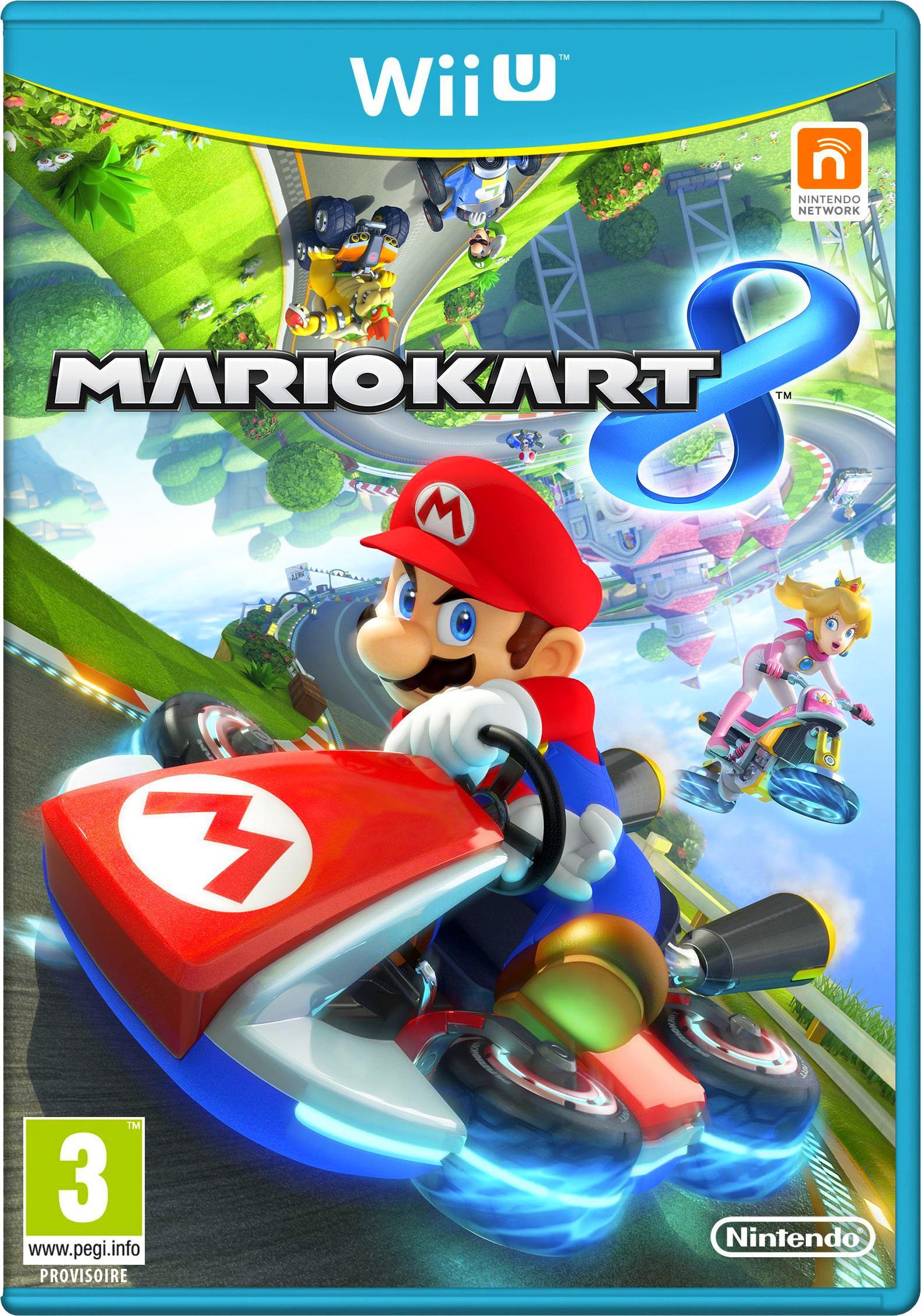 Mario Kart 8 pour Wii U / 39.99€ via Buyster, sinon