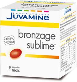 Juvamine Bronzage Sublime maxi-format 2 mois