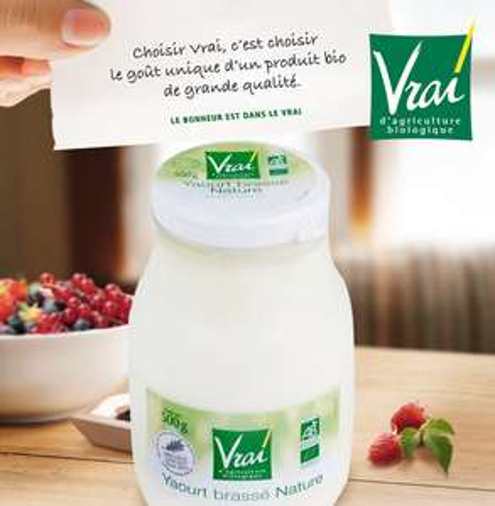 [A partir du 28/03] Vrai yaourt brassé Nature 500g Bio (via shopmium + BDR)