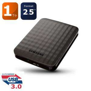 "Disque dur externe 2.5"" Samsung M3 1To USB3.0"