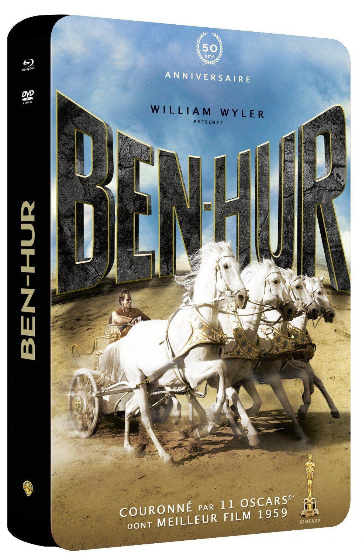 Coffret 3 Blu-rays + 2 DVD + 1CD Ben Hur (+ Bonus) / Port inclus