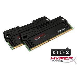 RAM Kingston 8 Go DDR3 HyperX Beast 1600MHz CL9 + 2 bons d'achat de 8€ sur l'informatique