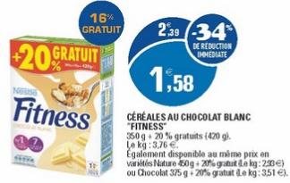 Céréales Fitness Nature 540g