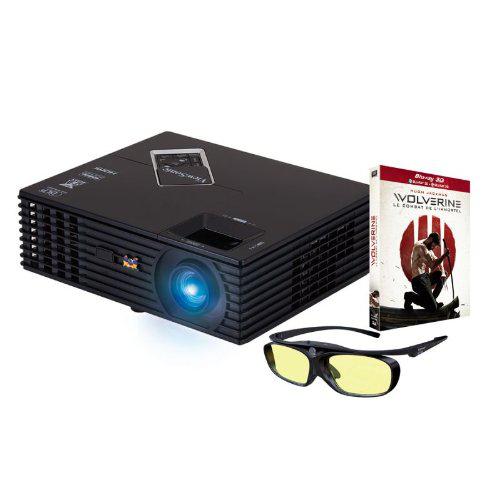 Vidéoprojecteur Viewsonic PJD7820HD 3D DLP Full HD 3000 lumens + Wolverine en Blu-ray