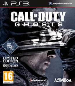 Call Of Duty: Ghosts sur PS3 (+ DLC Free Fall)