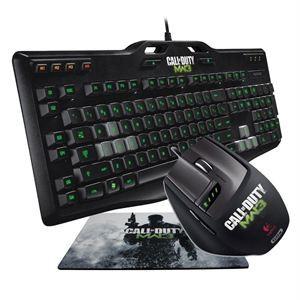 Logitech Gaming souris + clavier + Tapis G105 & G9x Call of Duty MW3