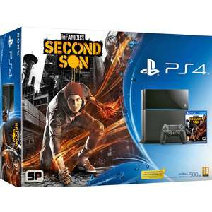 Pack Sony PS4 + Infamous Second Son