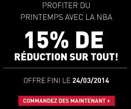 -15 % de réduction sur tout le site (sauf outlet)