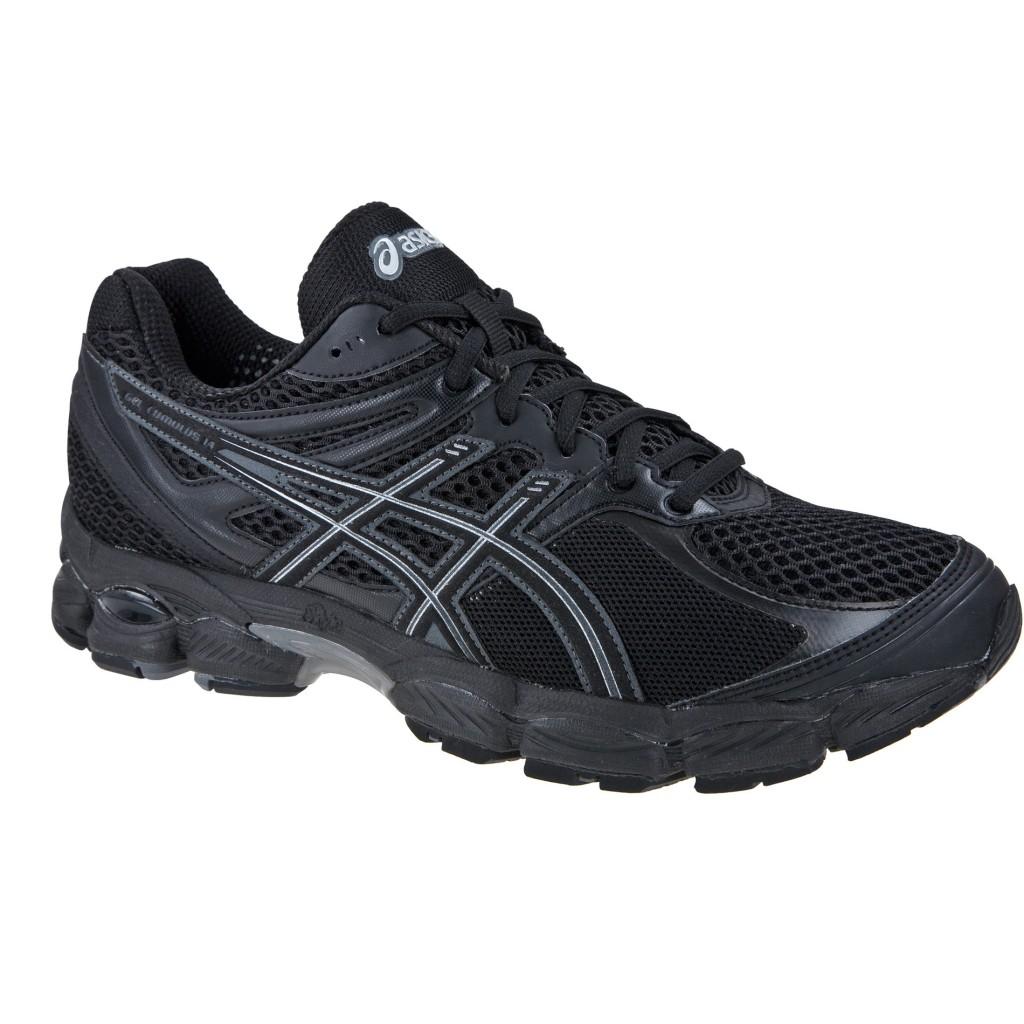 Chaussures de course à pied Asics Gel Cumulus 14 (Noir)