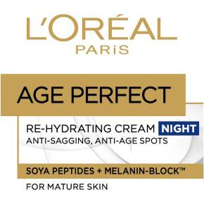 Lot de deux échantillons huile visage et crème-huile Age Perfect gratuits