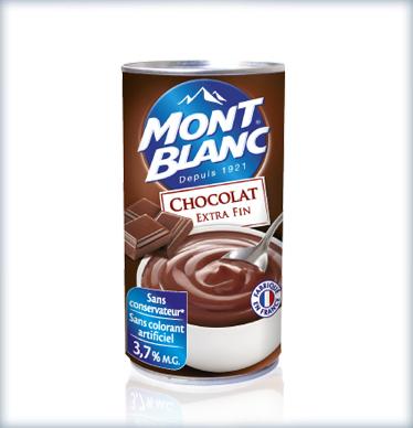 Crème Mont-Blanc 100% remboursée (au lieu de 2,49€)