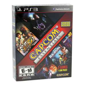 Bundle de 5 Jeux Capcom (Super Street Fighter IV, Resident Evil 6...) sur PS3
