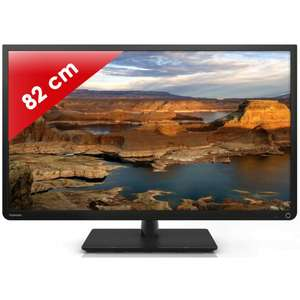 "Télévision 32"" Toshiba 32W2333DG Noir - LED Direct - 50 Hz - HD TV"