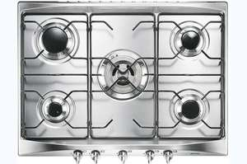 Table de cuisson à gaz Smeg SR275X (5 foyers)