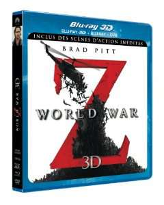 World War Z (Blu-ray 3D + Blu-ray + DVD)