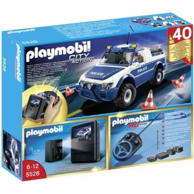Playmobil 5528  : Voiture de police radiocommandé avec caméra