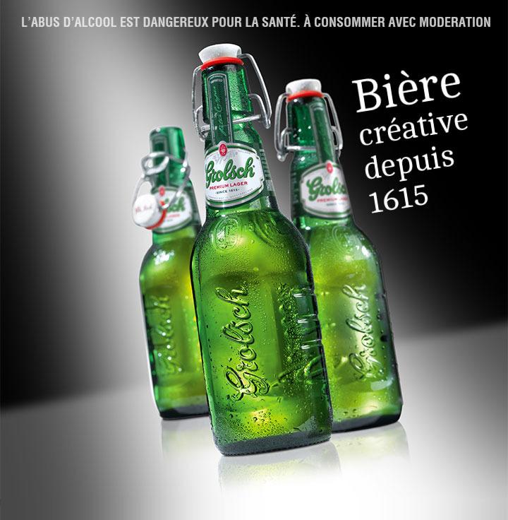 [A partir du 31/03] Biere Grolsch 4x45cl ou 6x25cl (via shopmium)