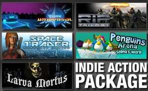 Action Indie Pack : 5 Jeux PC (Larva Mortus, Sedna's World...)