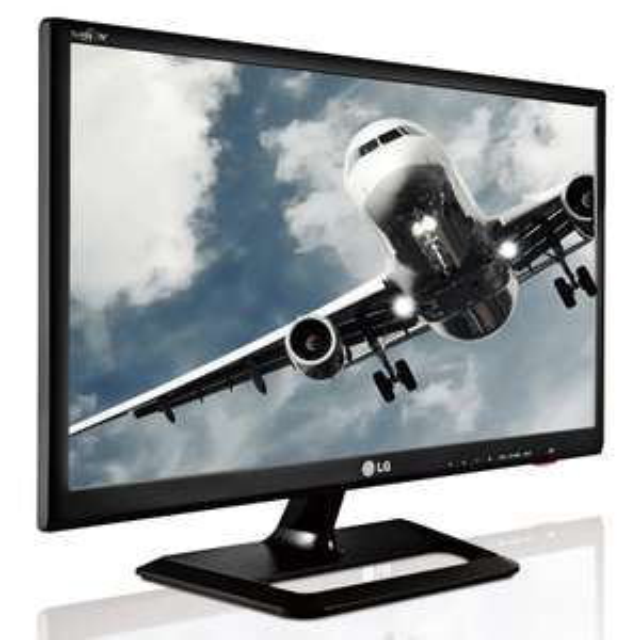 "Ecran PC (TV) 24"" LG M2452D-PZ - Full HD - Dalle IPS - TNT et Câble HD"