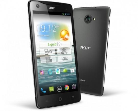 """Phablette 6"""" Acer Liquid S2 - Snapdragon 800 Full HD"""