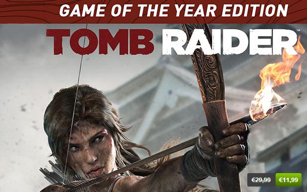 Promotion sur les jeux PC Square Enix - Ex : Tomb Raider GOTY