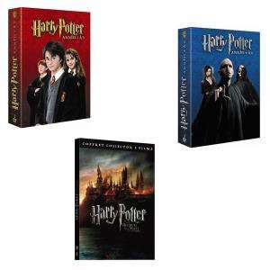 Intégrale Harry Potter en DVD