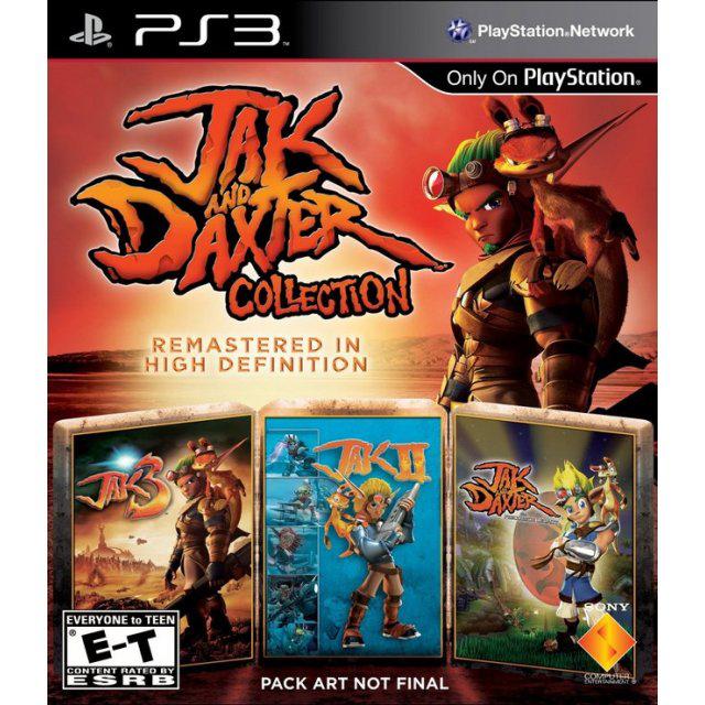 Jeu PS3 Jak and Daxter - Trilogy
