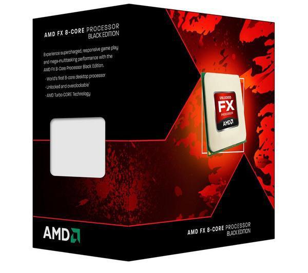 Processeur  AMD FX-8320 Black Edition - 3,5 GHz - - Socket AM3+