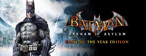 Weekend 3 Deal : Franchise Batman + Square Enix éditeur + Interstellar Marines - Ex : Batman Arkham Asylum GOTY