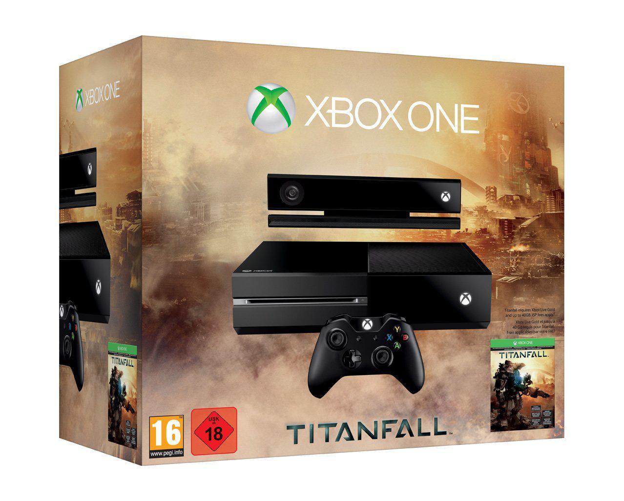 Pack Xbox One Titanfall + Manette sans fil supplémentaire (+20€ de réduction sur une sélection de jeux XBOX One)