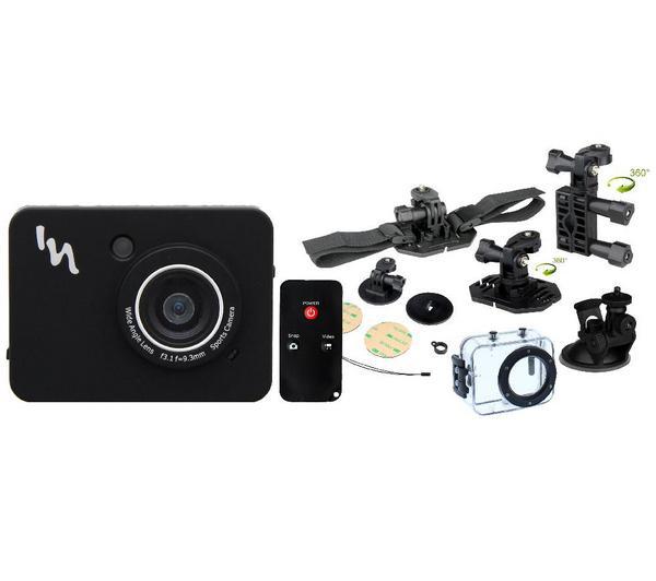 Caméra Sport TNB Adrenalin + Pack complet (télécommande + caisson étanche + accessoires)