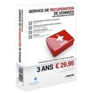 Service de récupération de données Freecom Anti Datastrophe 3 ans