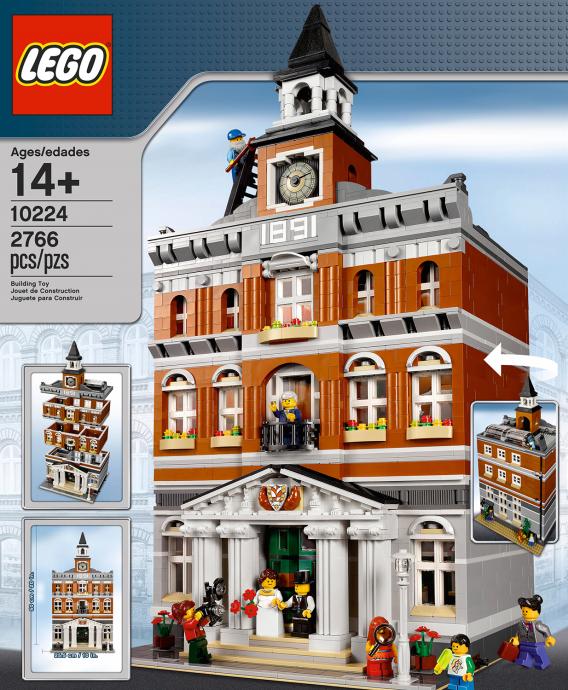 Jeu de construction Lego 10224 - La Mairie