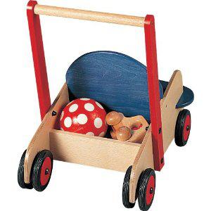 Landau de poupée Haba en bois, port inclus à 24.96€ et Trotteur Haba en bois (hêtre), port inclus