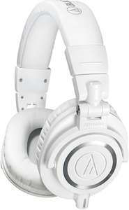 Casque Audio-Technica ATH-M50 WH blanc ou rouge