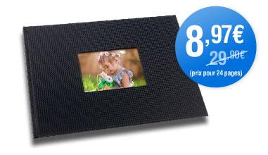 -70% de réduction sur le livre photo 21x21 et A4 paysage (couverture à jaquette)