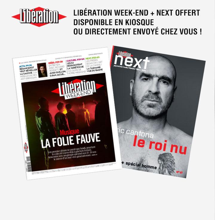 Offre découverte : Libération Week-end + Next offert (au lieu de 3,60€)