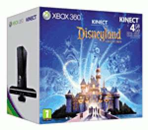 Console Xbox 360 4 Go Microsoft + capteur Kinect + Disneyland Adventures