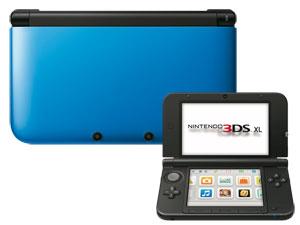 Console Nintendo 3DS XL Bleu (avec 50% sur la carte Leclerc)