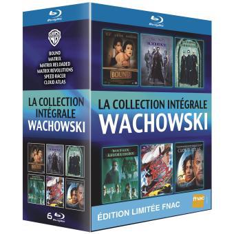 Coffret 6 Blu-ray Andy et Lana Wachowski : Cloud Atlas + Bound + Speed Racer + Trilogie Matrix