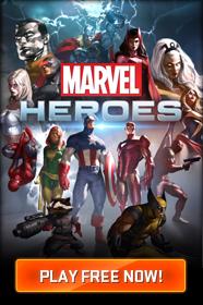 Un héros aléatoire gratuit sur Marvel Heroes PC