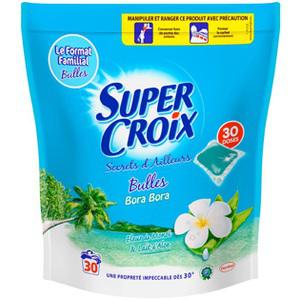 Capsules de lessive Super croix (30 doses)