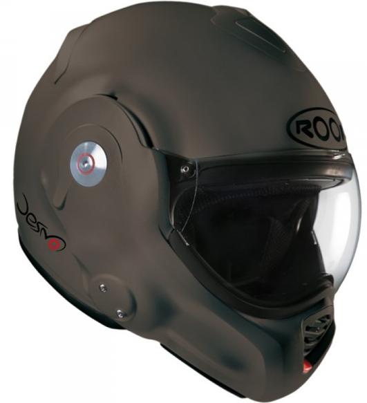 Casque moto Desmo Roof Acier Mat