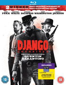 Django Unchained en Blu-ray (En anglais)