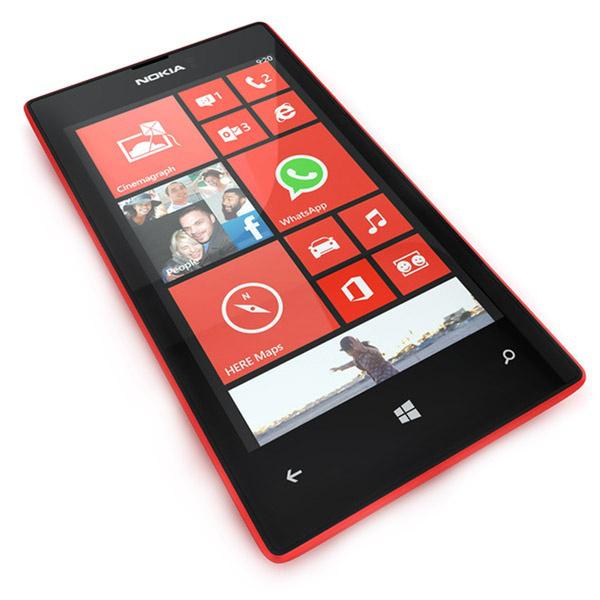 -25% en cagnotte sur les téléphones Nokia - Ex : Nokia Lumia 520 (avec ODR 20€)
