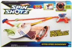 Super arène de combat Hot Wheels Spinshotz