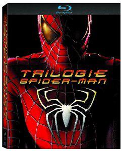 [Précommande] Blu-ray Trilogie Spider-Man