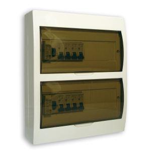 Coffret éléctrique 24 modules équipé