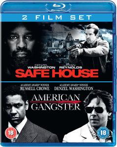 Coffret 2 Blu Ray Safe House / American Gangster